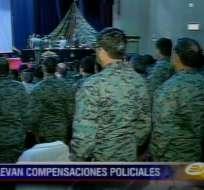 Gobierno firmó acuerdo para homologar sueldos de militares y policías