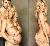 Shakira llora tras amamantar a Milan por primera vez