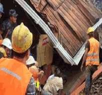 Asciende a diez el número de muertos por aludes en zona minera de Ponce Enríquez