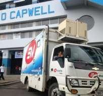 Ecuavisa es impedido de ingresar al estadio George Capwell