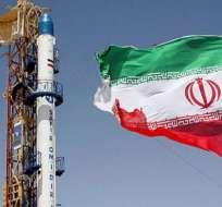 Irán lanza un cohete al espacio con un mono a bordo