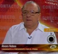Álvaro Noboa propone Fuerzas Armadas especiales