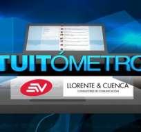 Ecuavisa sigue la campaña electoral por las redes sociales
