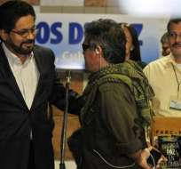 FARC piden proteger y dar tiempo suficiente a los diálogos de paz