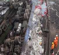 26 muertos y 15 heridos al explotar un camión cargado de pirotecnia