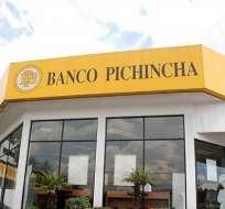 Banco Pichincha responde al listado presentado por el SRI