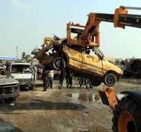 Mueren al menos 26 personas por la explosión de varios coches bomba en Irak