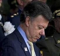 Juan Manuel Santos recibe atención médica por afección respiratoria