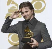 Juanes celebra su Grammy y asegura que su nuevo disco tendrá temas en inglés