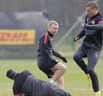 Paul Scholes queda fuera de la expedición del Manchester United a Madrid