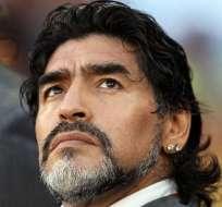 Maradona: 'Viajaré a Buenos Aires a reconocer a Dieguito'