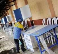 Consejo Nacional Electoral ultima preparativos para comicios de mañana