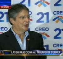 Guillermo Lasso: CREO se convirtió en la segunda fuerza política del Ecuador