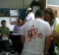 Familia Bucaram sufraga en el centro de Guayaquil