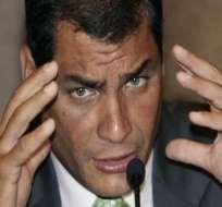 Correa llama a cuidar la transparencia de las elecciones