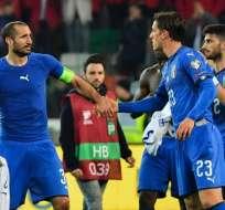 Los dirigidos por Roberto Mancini vencieron 2-0 a Finlandia en Udine. Foto: Andreas SOLARO / AFP