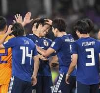 Los 'nipones' vencieron 3-0 a Irán en Al-Ain. Foto: Khaled DESOUKI / AFP