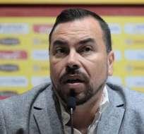 El dirigente de Barcelona dijo que están esperando que cumpla su sanción para que regrese. Foto: API