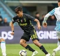 Juventus en su partido ante SPAL.