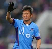 Kazu Miura, delantero de 52 años.