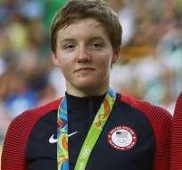 Kelly Catlin, era parte del equipo estadounidense.