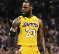 Lebron James, figura de Los Lakers.
