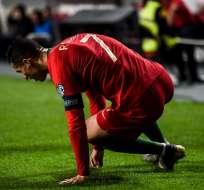 Lesión de Cristiano Ronaldo.