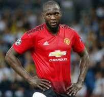Romelu Lukaku, figura del Manchester United.