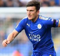 Harry Maguire, figura del Leicester City.