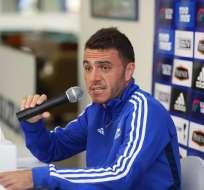Mariano Soso en rueda de prensa