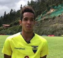 Johan Mina, figura del Sudamericano Sub-17.