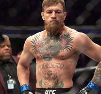 McGregor, luchador de UFC.