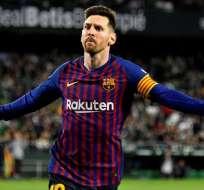 Messi, máxima figura del Barca.