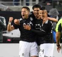 La selección mexicana consigue segundo triunfo bajo el mando de Gerardo Martino. Foto: Robyn Beck / AFP