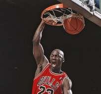 Jordan en su época de jugador.
