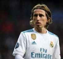 Luka Modric, figura croata.