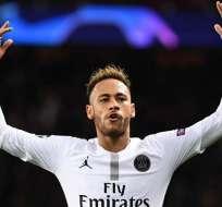 Neymar es figura en el PSG.