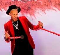 Neymar en la previa de su cumpleaños.