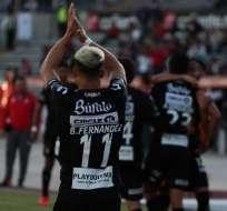 Necaxa festeja un tanto en Copa Mx