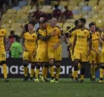 Los uruguayos son segundos del grupo D con 6 puntos, 2 más que los 'albos'. Foto: MAURO PIMENTEL / AFP