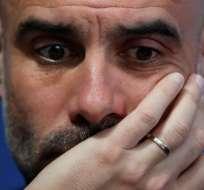 Pep Guardiola, DT del Manchester City.