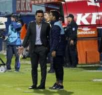 El entrenador ecuatoriano habló en su regreso de la pretemporada en Argentina. Foto: API