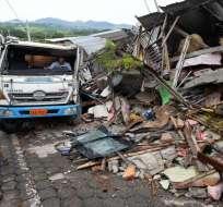 sismos registrados en Muisne y Atacames