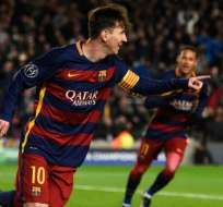 Messi anotó el mejor gol del año según la UEFA.