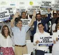 El colectivo Compromiso Ecuador presentó este 20 de septiembre de 2016 a 34 nuevos integrantes
