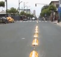 Accidentes en la calle Esmeraldas por señalización