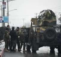 KABUL, Afganistán.- Los ataques terroristas en la capital afgana se han multiplicado en este año. Foto: AFP