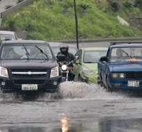 Lluvia intensa en Guayaquil