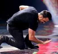"""Luis Fonsi hace bailar """"despacito"""" a Viña del Mar"""