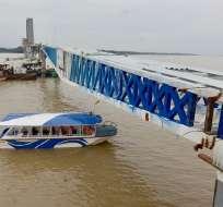 puente isla Santay